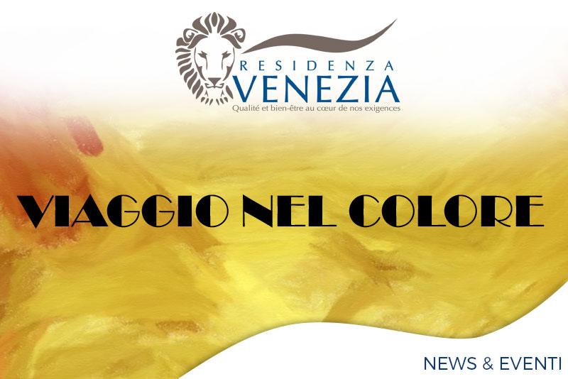 mostra di pittura viaggio nel colore - Orpea Italia