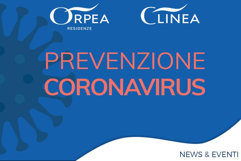 Orpea - Prevenzione Coronavirus