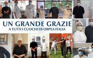 grazie cuochi - Orpea Italia