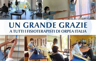grazie fisioterapisti - Orpea Italia