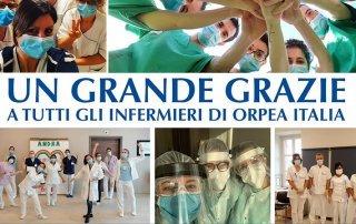 grazie infermieri - Orpea Italia