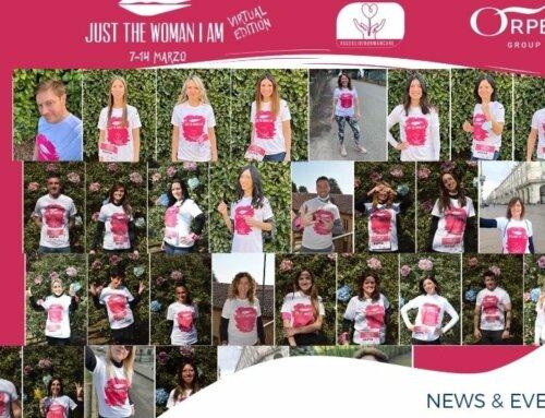 """Orpea e lo sport: insieme per la solidarietà: """"JUST THE WOMAN I AM"""""""