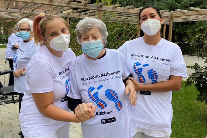 Giornata Mondiale dell'Alzheimer - Maratona Alzheimer 2021